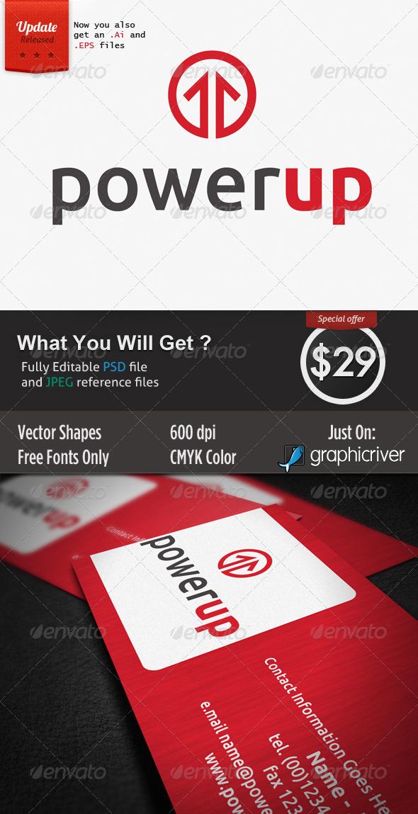 Power Up - Symbols Logo Templates
