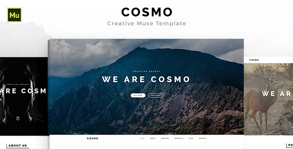 Cosmo – Creative Muse Template