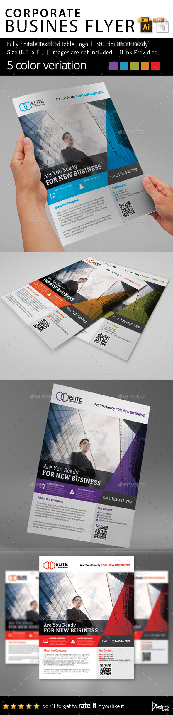 Multipurpose Business Flyer 74 - Flyers Print Templates