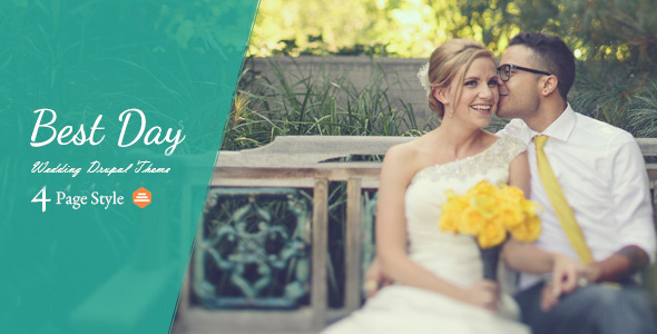 Best Day – Responsive OnePage Wedding Drupal Theme