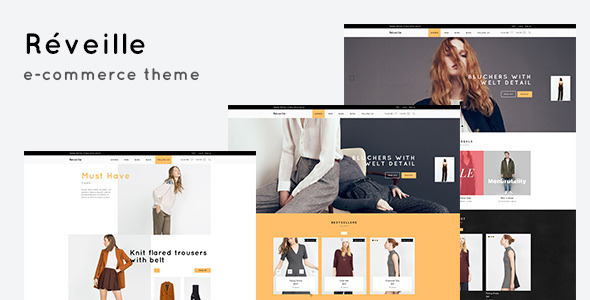 Revielle – eCommerce PSD Template