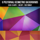 6 Polygonal Backgrounds