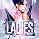 Ladies Night Flyer   Psd Template - GraphicRiver Item for Sale