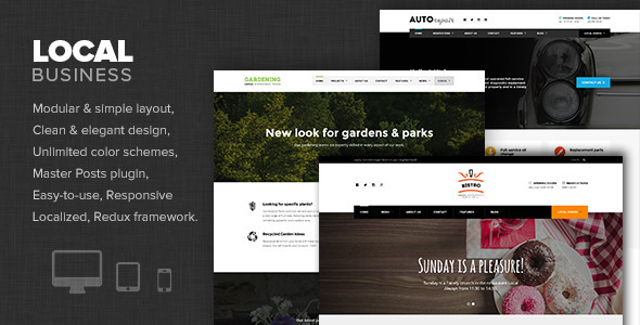 Local Business – WP Theme for Small businesses