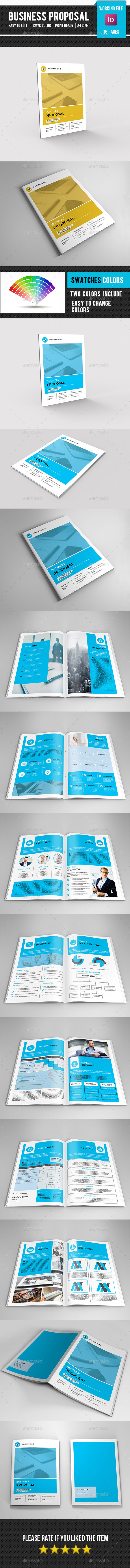 Company Proposal Template-V311 - Proposals & Invoices Stationery