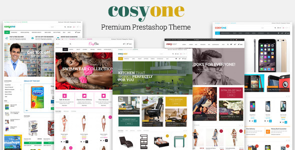 JMS Cosyone - Multipurpose Prestashop Theme