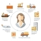 Vector Logistics Infographics - GraphicRiver Item for Sale