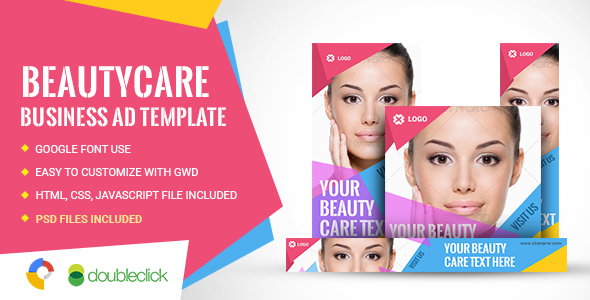 Beauty Care HTML5 Google Banner Ad