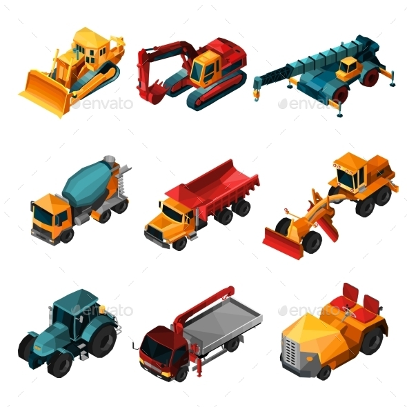 Isometric Construction Machines - Industries Business