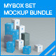 MyBox Set Mock-up Bundle - GraphicRiver Item for Sale
