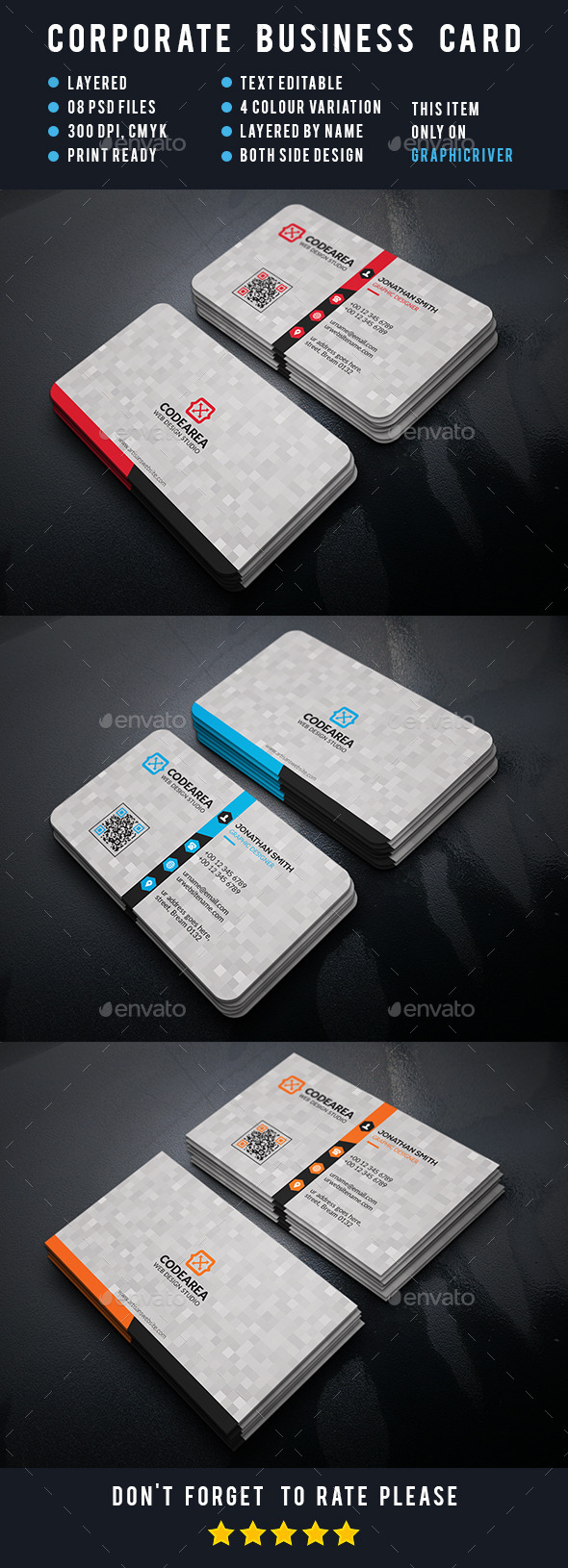Artisans Corporate Business Card - Business Cards Print Templates