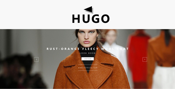 Hugo Fashion Shop - Responsive Magento Theme