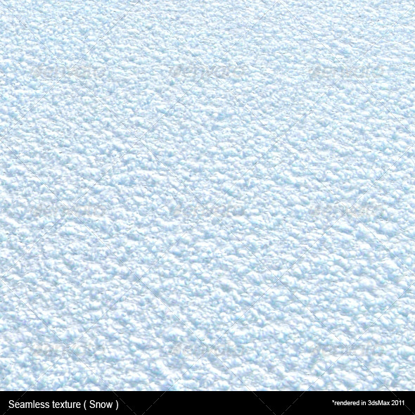 Tileable Snow Texture - 3DOcean Item for Sale