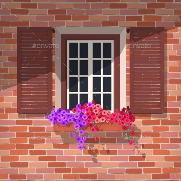 Open Window - Flowers & Plants Nature