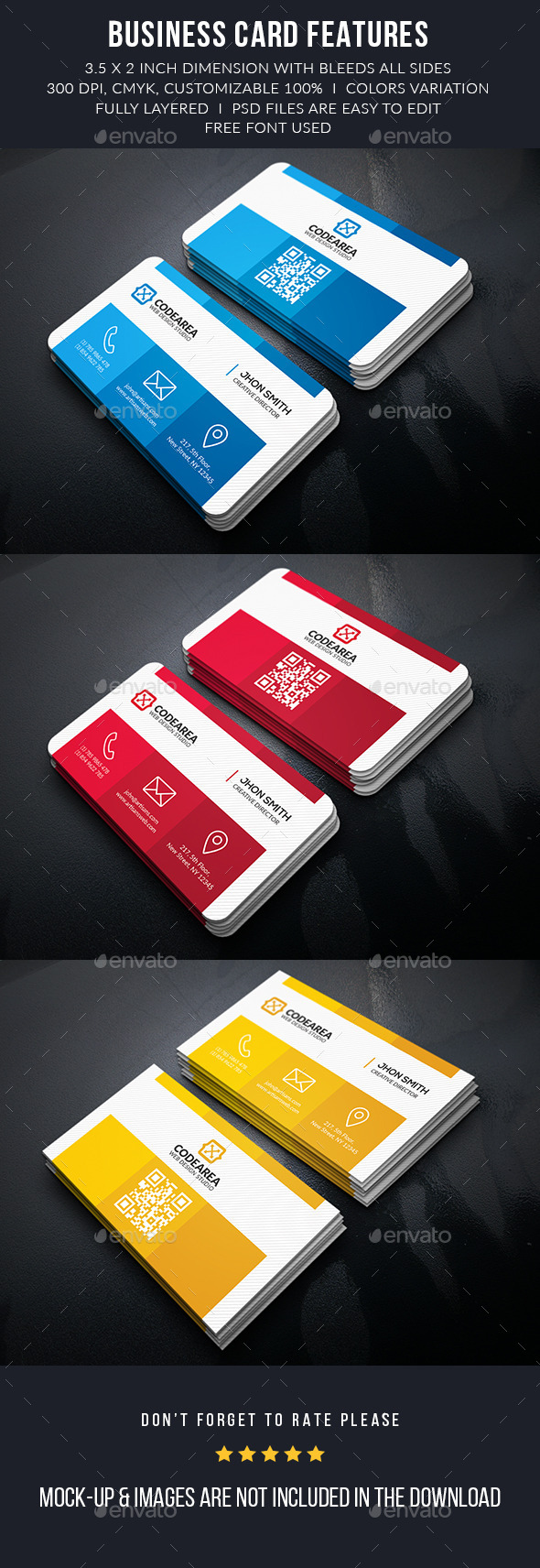 Color Shade Business Card