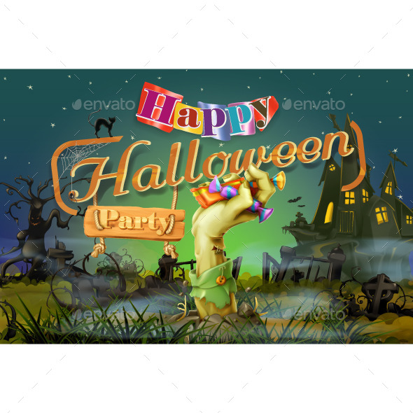 Happy Halloween Party - Halloween Seasons/Holidays