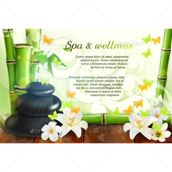 Spa and Wellness - Backgrounds Decorative
