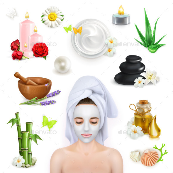 Spa, Beauty and Care  - Miscellaneous Vectors