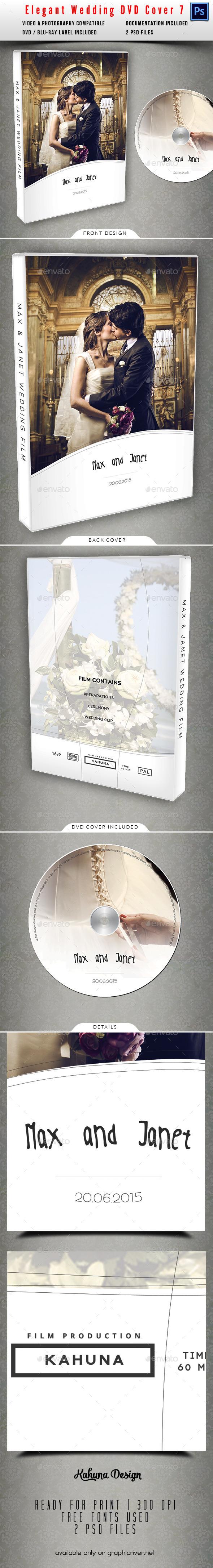 Wedding DVD Cover 07 - CD & DVD Artwork Print Templates