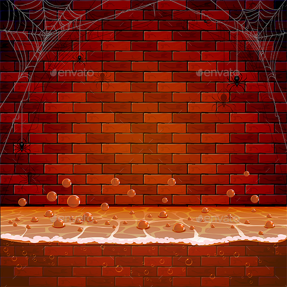 Brick Wall in the Sewers - Halloween Seasons/Holidays