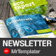 Eco Newsletter - GraphicRiver Item for Sale