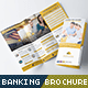 Banking and Financial Service Trifold Brochure - GraphicRiver Item for Sale