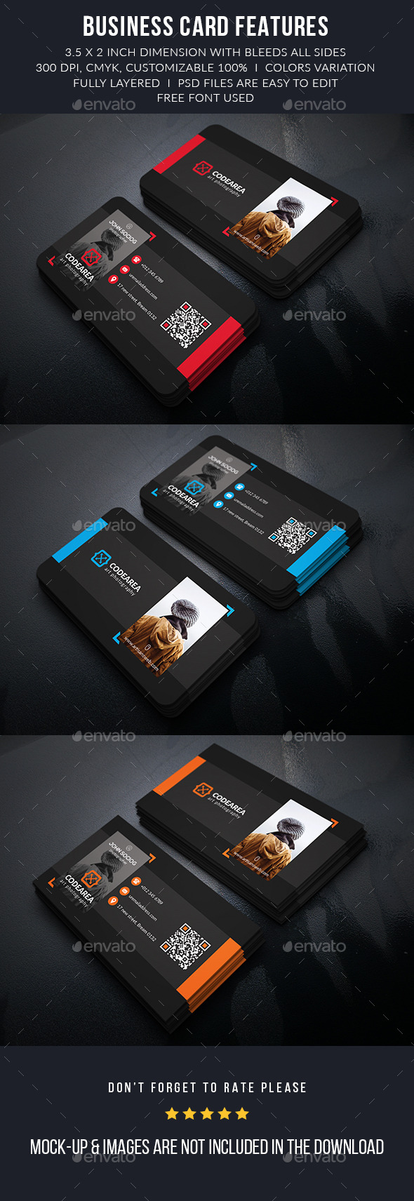 Professional Photography Busainess Card - Business Cards Print Templates