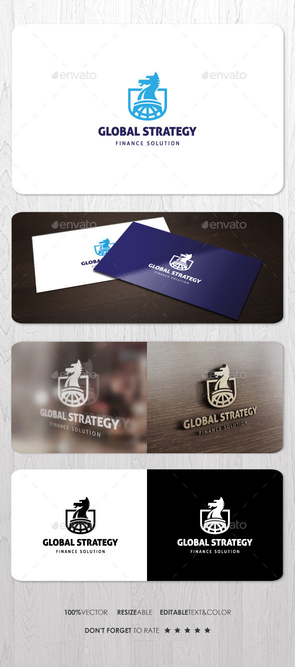 Global Strategy Logo - Symbols Logo Templates
