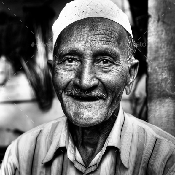 Happy Indian Man Smiling For The Camera Concept - Stock Photo - Images