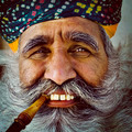 Indigenous Senior Indian Man Looking at the Camera Concept - PhotoDune Item for Sale
