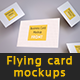 Realistic Business Card and A4 paper Mockup Pack