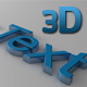 3D Glossy and Modern Text - 3DOcean Item for Sale