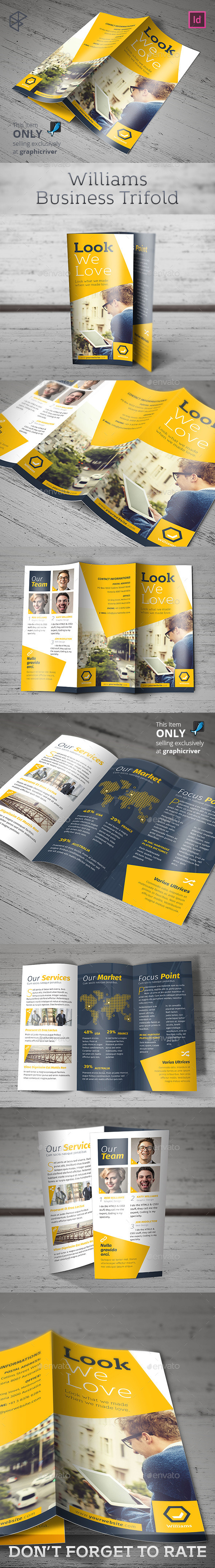 Williams Business Trifold - Corporate Brochures