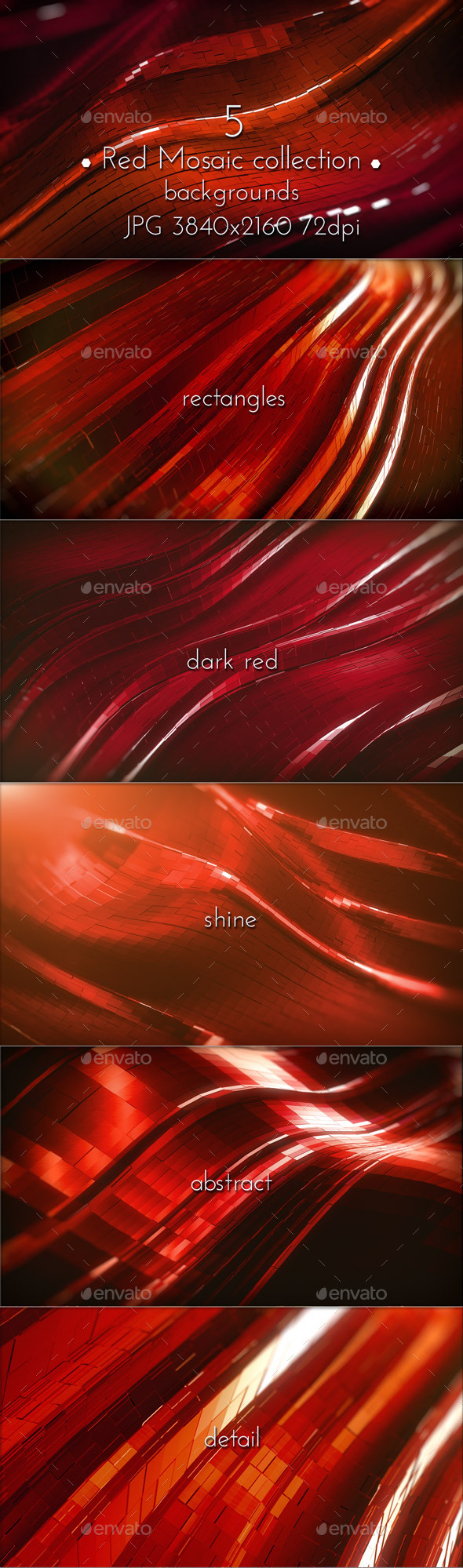 Dark Red Background - Abstract Backgrounds