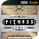 Vintage Fitness Flyer - GraphicRiver Item for Sale
