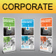 Corporate Business Rollup Banner 50 - GraphicRiver Item for Sale