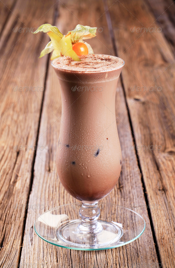 Chocolate drink - Stock Photo - Images