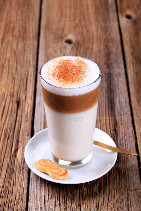 Latte macchiato - Stock Photo - Images