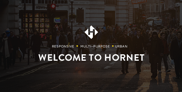Hornet – An Urban Multi-Purpose Theme