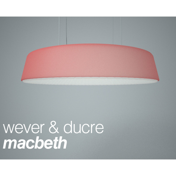Hanging lamp Macbeth from Wever & Ducre - 3DOcean Item for Sale