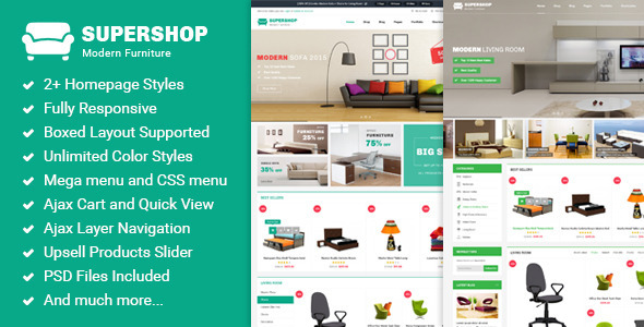 Supershop – Premium Multipurpose Magento Theme