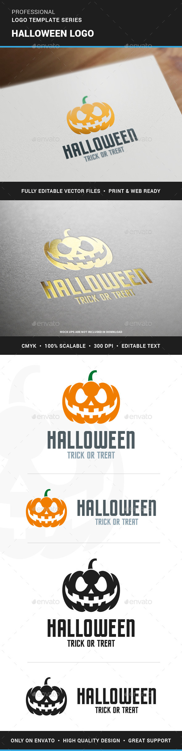 Halloween Logo Template - Objects Logo Templates