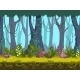 Seamless Spring Forest Landscape - GraphicRiver Item for Sale