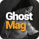 GhostMag | Ghost Blog Theme - ThemeForest Item for Sale