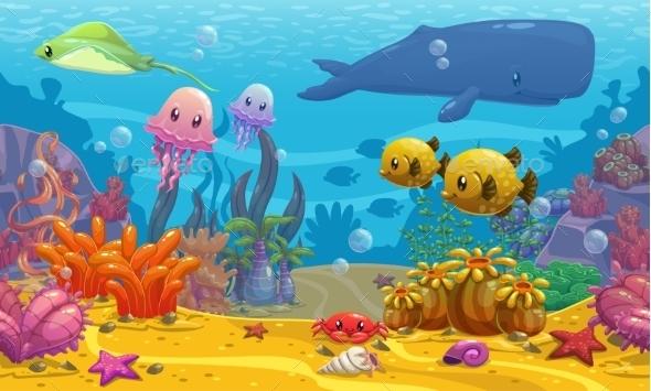 Undersea Landscape - Landscapes Nature