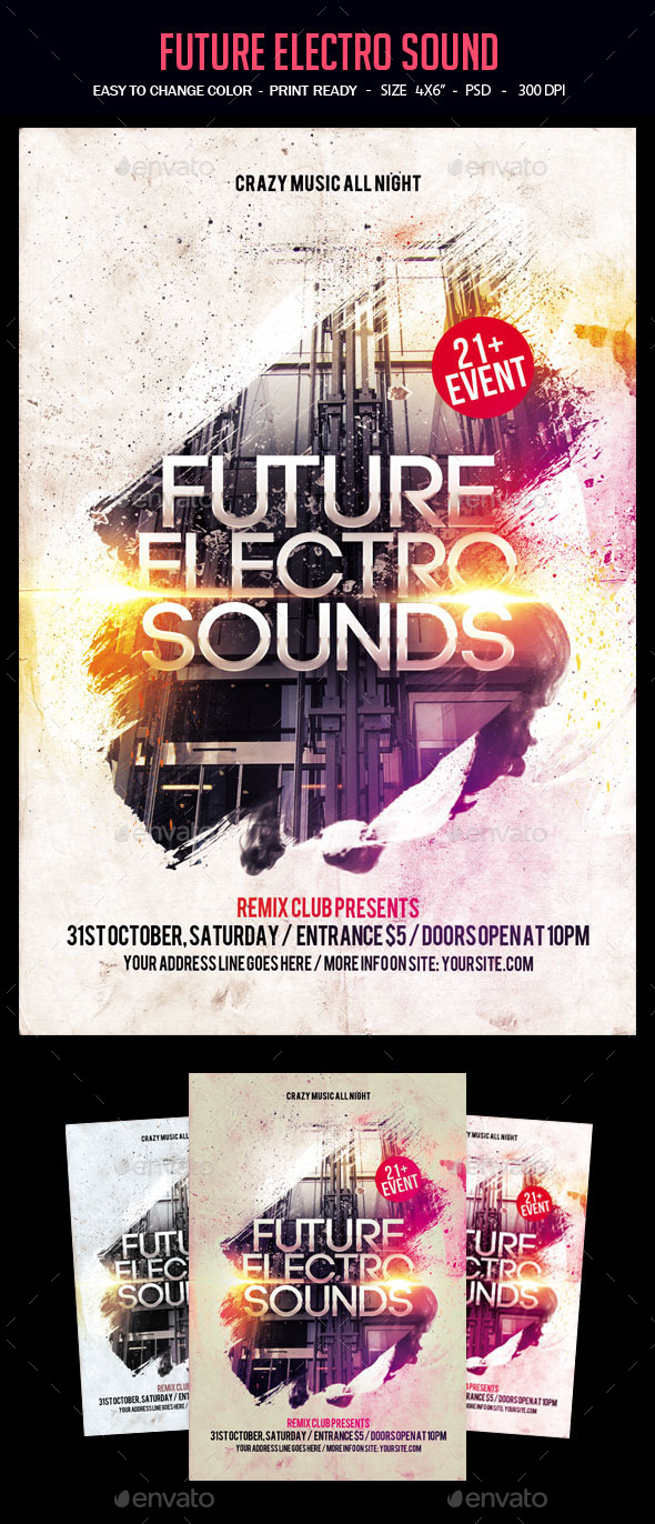 Future Electro Sound - Clubs & Parties Events