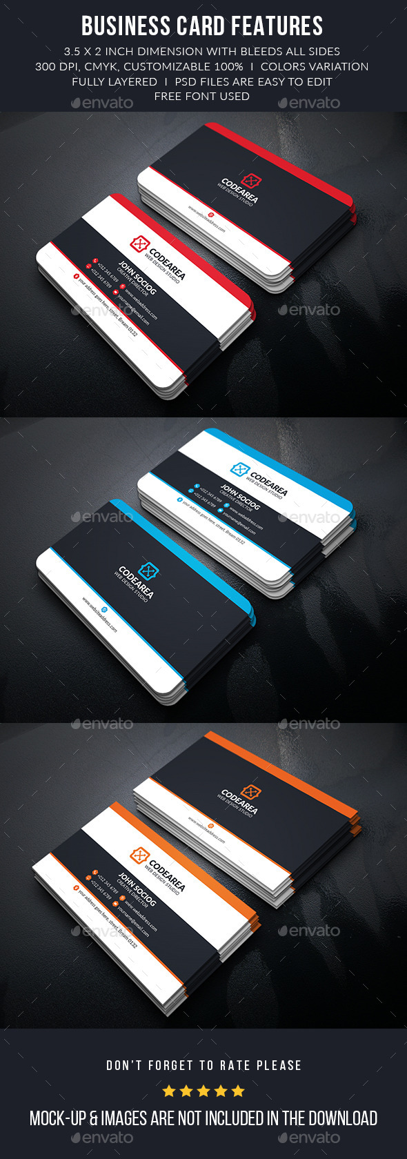 Creativeart Corporate Business Cards - Corporate Business Cards