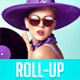 Instagram Style Rollup Banner - GraphicRiver Item for Sale