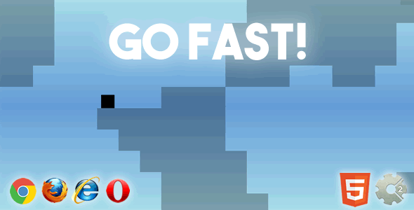 Go Fast! - HTML5 Simple & Addictive Game - CodeCanyon Item for Sale