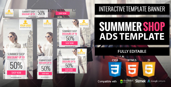 Summer-shop Ads Template